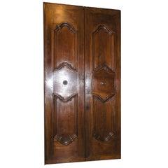 Antique Walnut Double Door