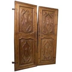 Antique Double Entry Door