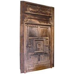 Antique Doorway and Door
