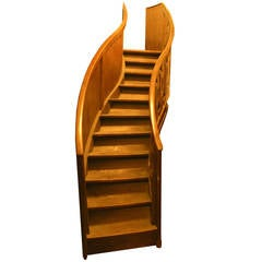 Antique Walnut Staircase