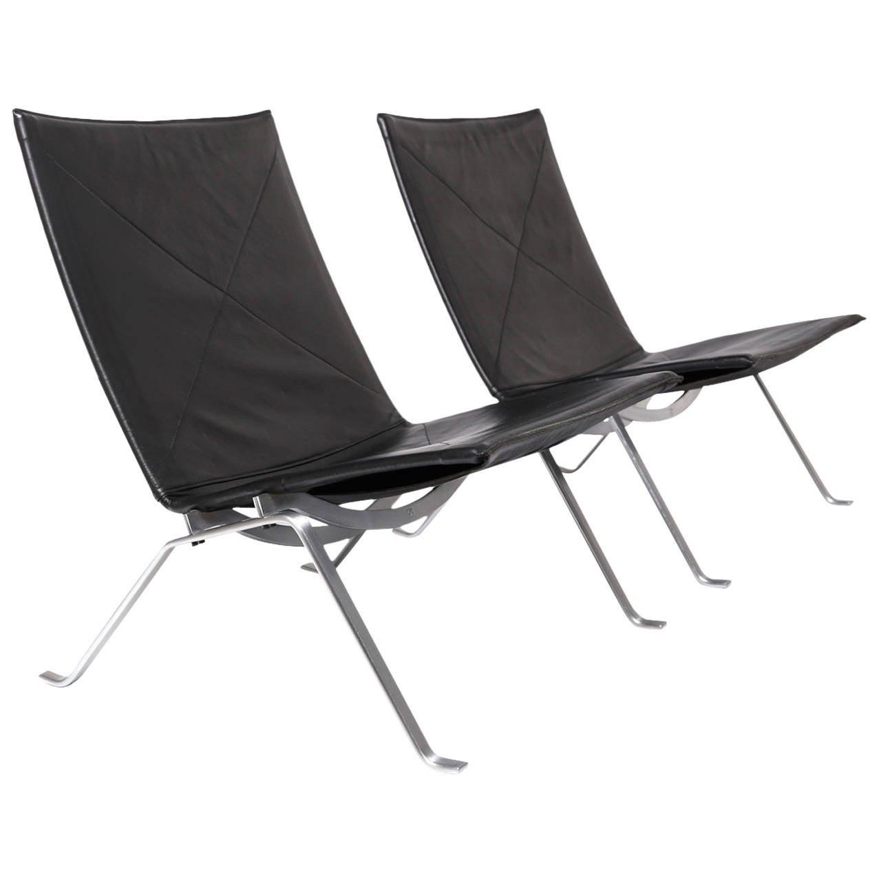 PK22 Chairs By Poul Kjaerholm For E Kold Christensen At 1stdibs