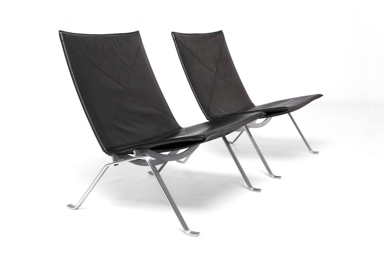Pk22 Chairs By Poul Kjaerholm For E Kold Christensen At