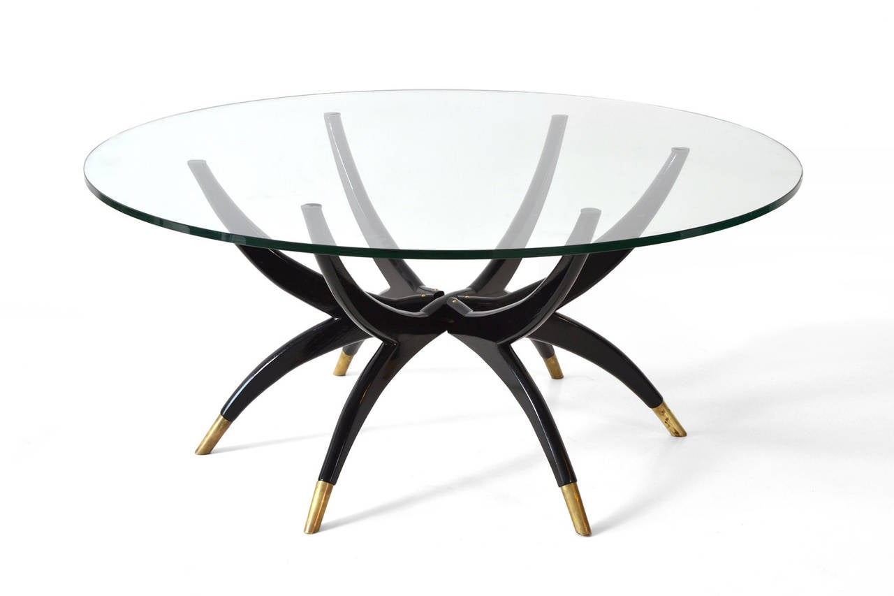 Spider Leg Coffee Table 1950s At 1stdibs