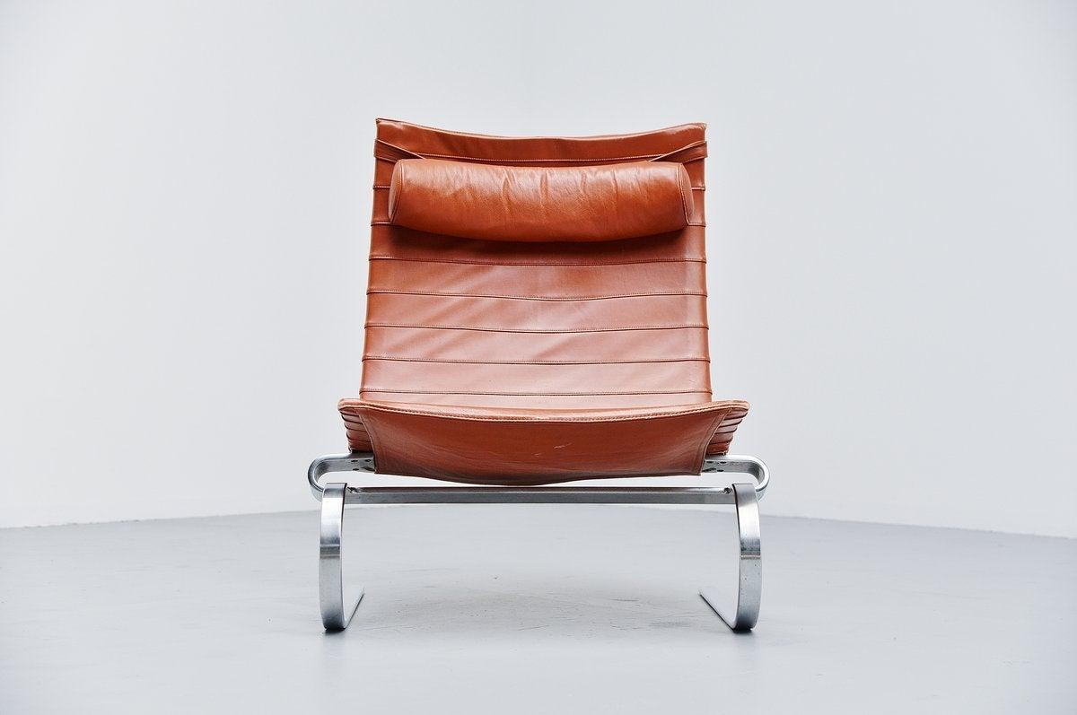 Poul Kjaerholm Pk20 Lounge Chair At 1stdibs