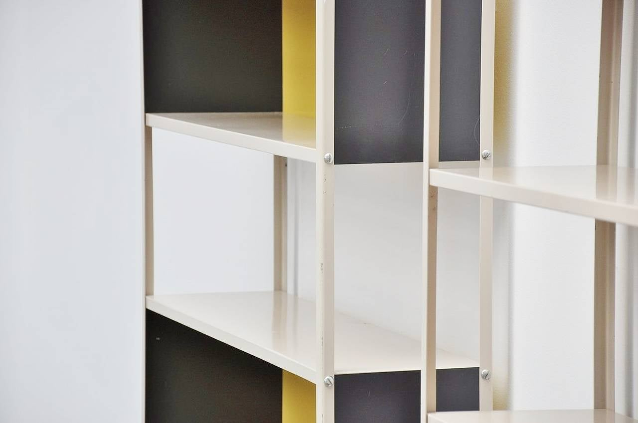 Friso Kramer, Bijenkorf Bookcase Pair for Asmeta, 1953 3