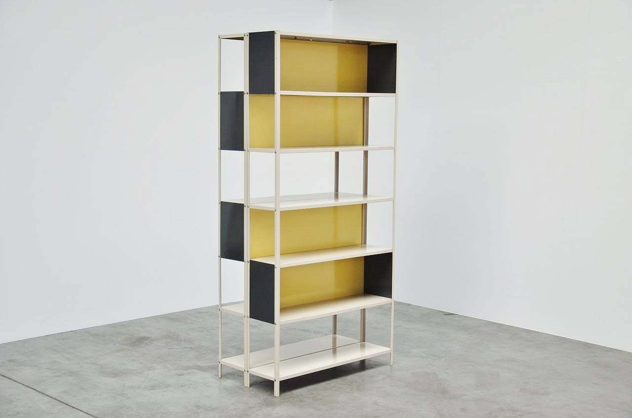 Friso Kramer, Bijenkorf Bookcase Pair for Asmeta, 1953 9