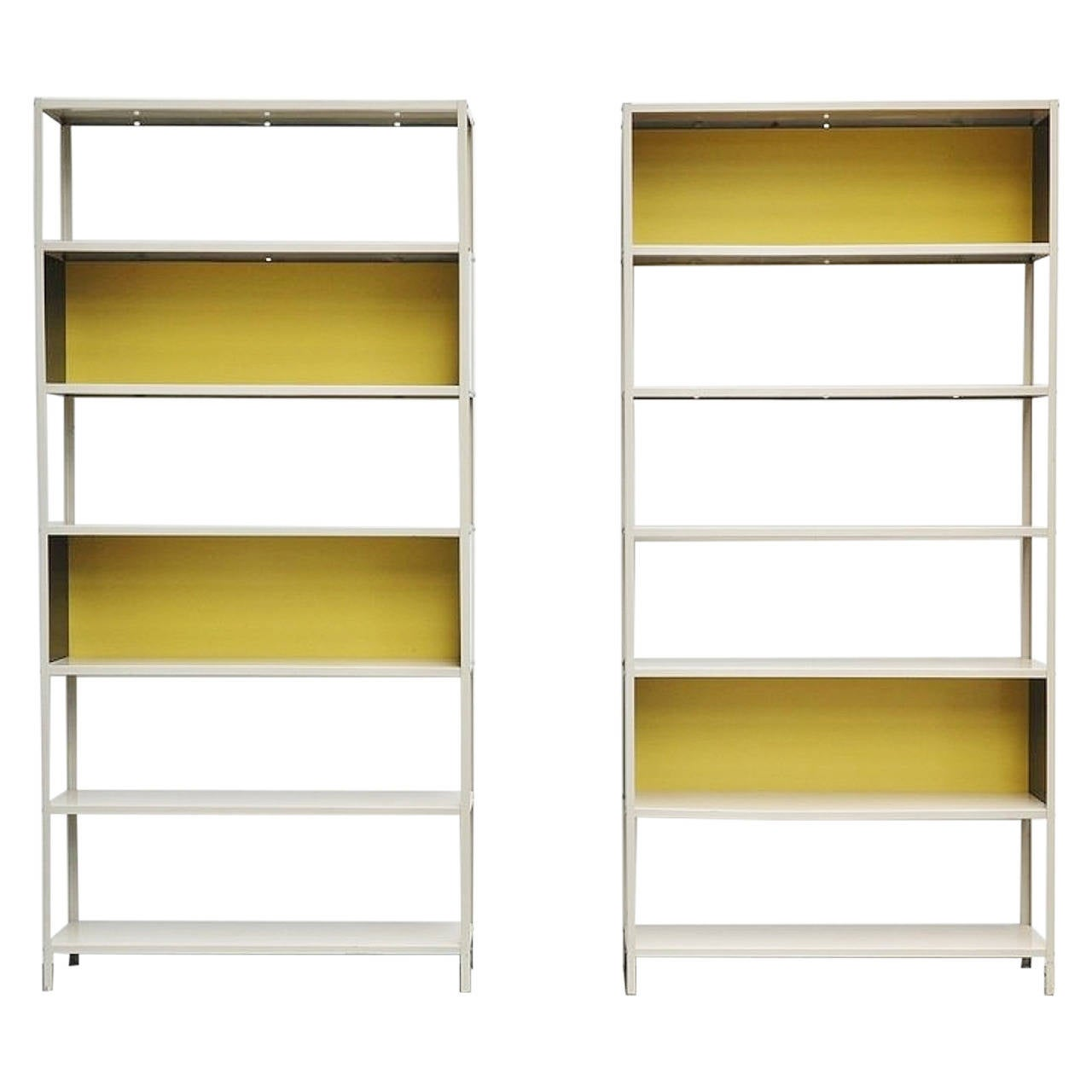 Friso Kramer, Bijenkorf Bookcase Pair for Asmeta, 1953 1
