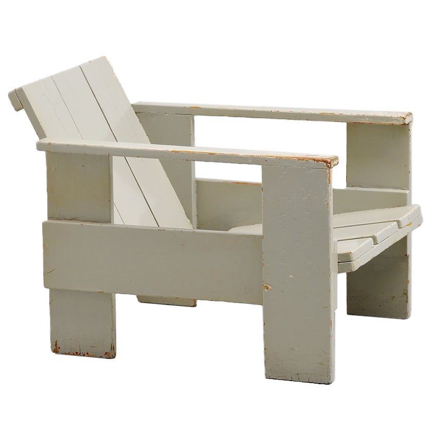 Gerrit Thomas Rietveld Crate Chair Metz U0026 Co, 1940 For Sale