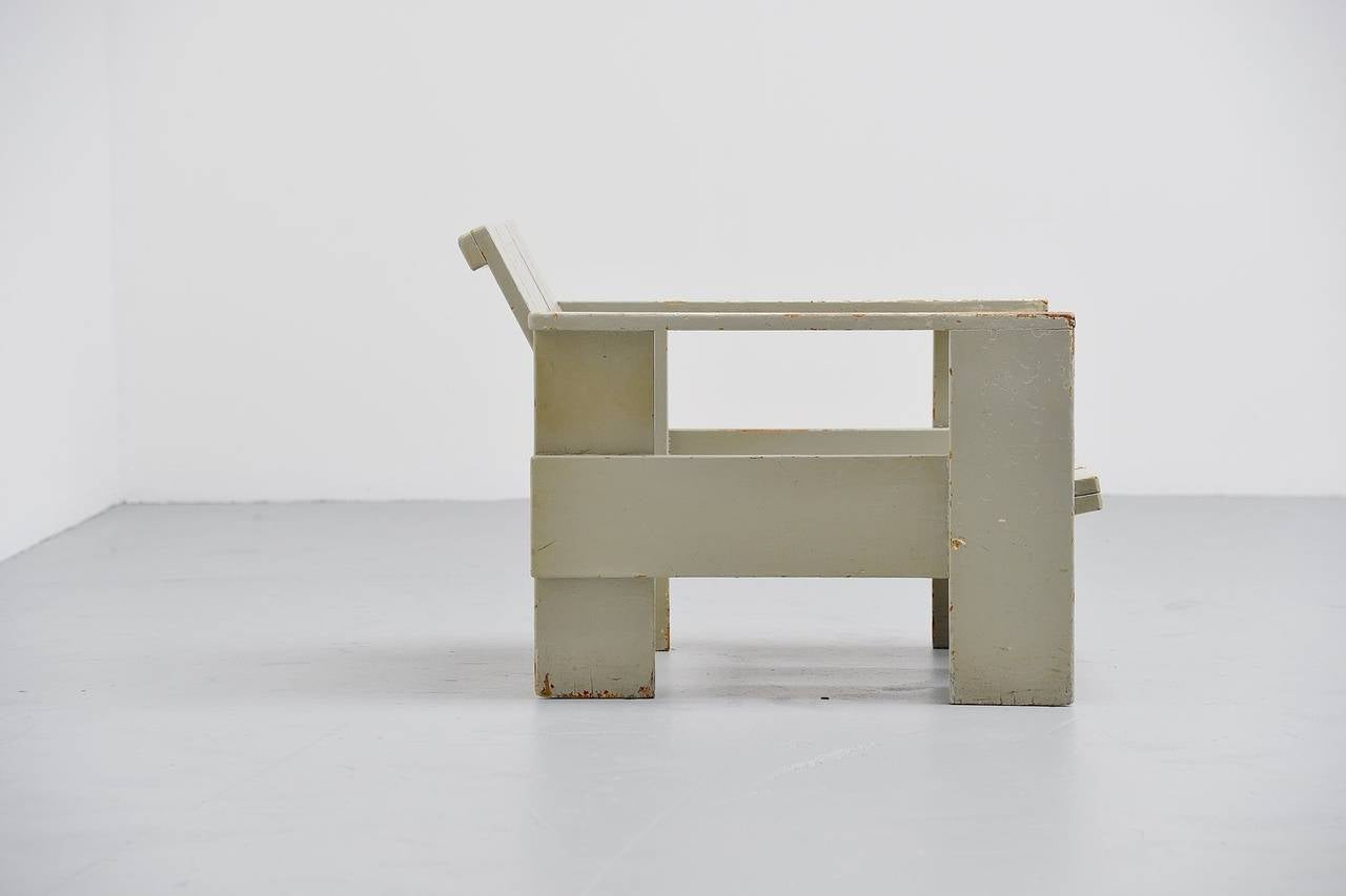 Gerrit rietveld furniture - Gerrit Thomas Rietveld Crate Chair Metz Co