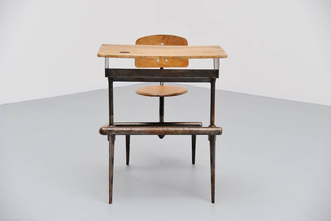 Chair With Attached Desk From Schools Used School Furniture Furniture Used School Furniture
