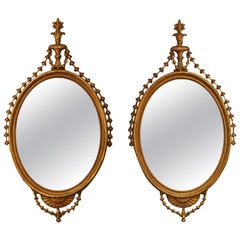 Pair of Period George III Mirrors