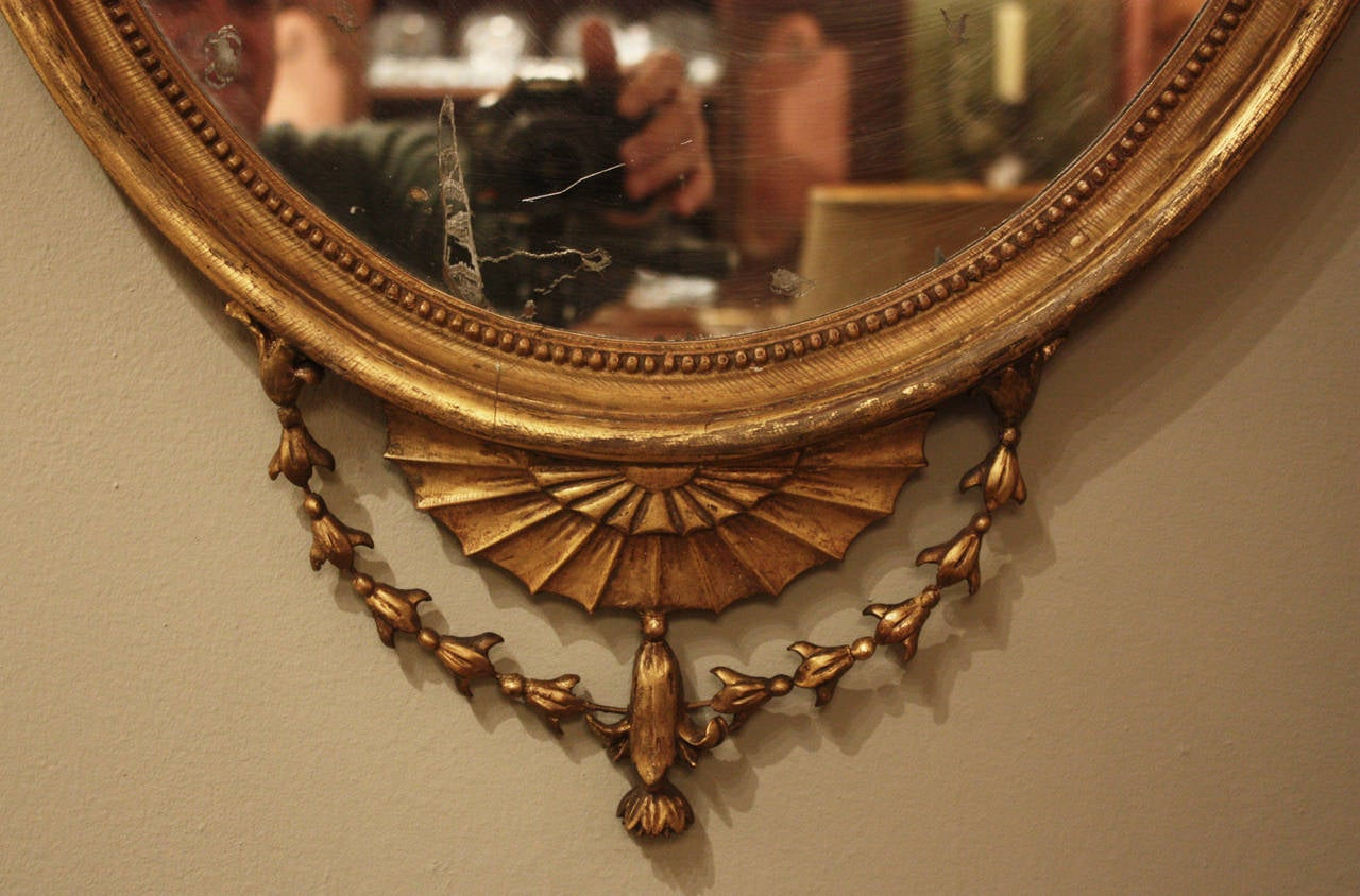 British Pair of Period George III Mirrors For Sale
