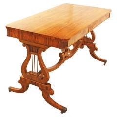 Baker Furniture Regency Style Writing Desk