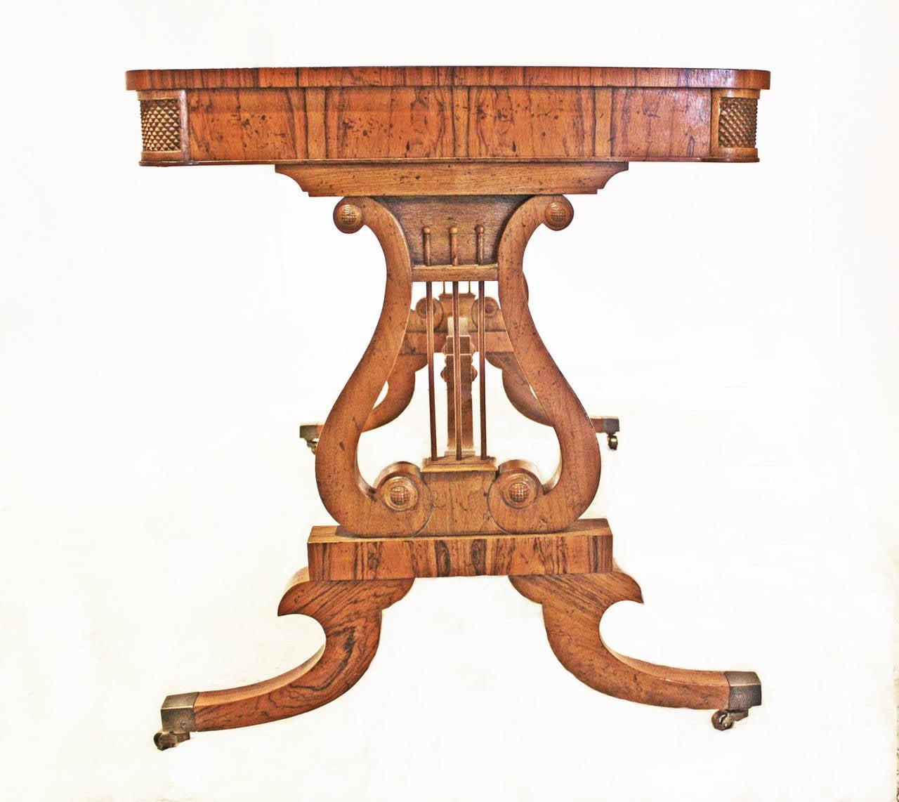 American Baker Furniture Regency Style Writing Desk For Sale