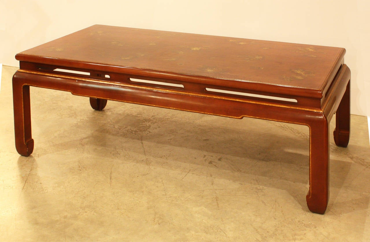 French Lacquered Coffee Table For Sale At 1stdibs