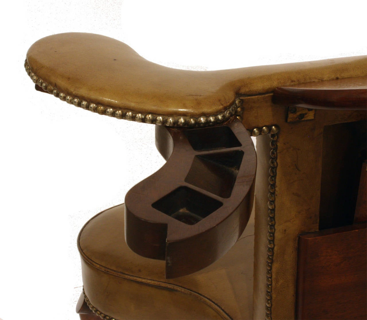 Gentleman S Cock Fighting Or Library Chair At 1stdibs