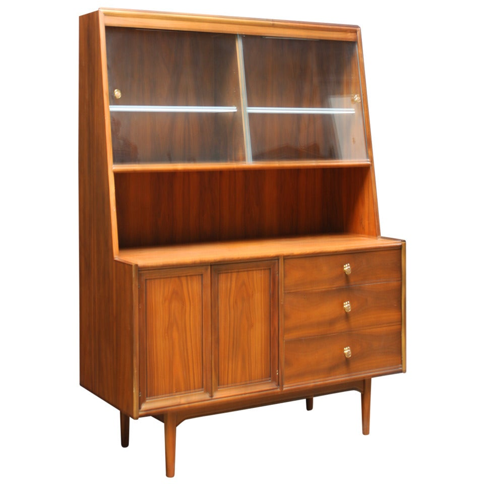 kipp stewart mid century dry bar or hutch buffet by. Black Bedroom Furniture Sets. Home Design Ideas