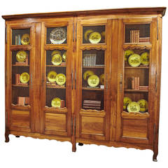 18th Century French Walnut Bibliotheque