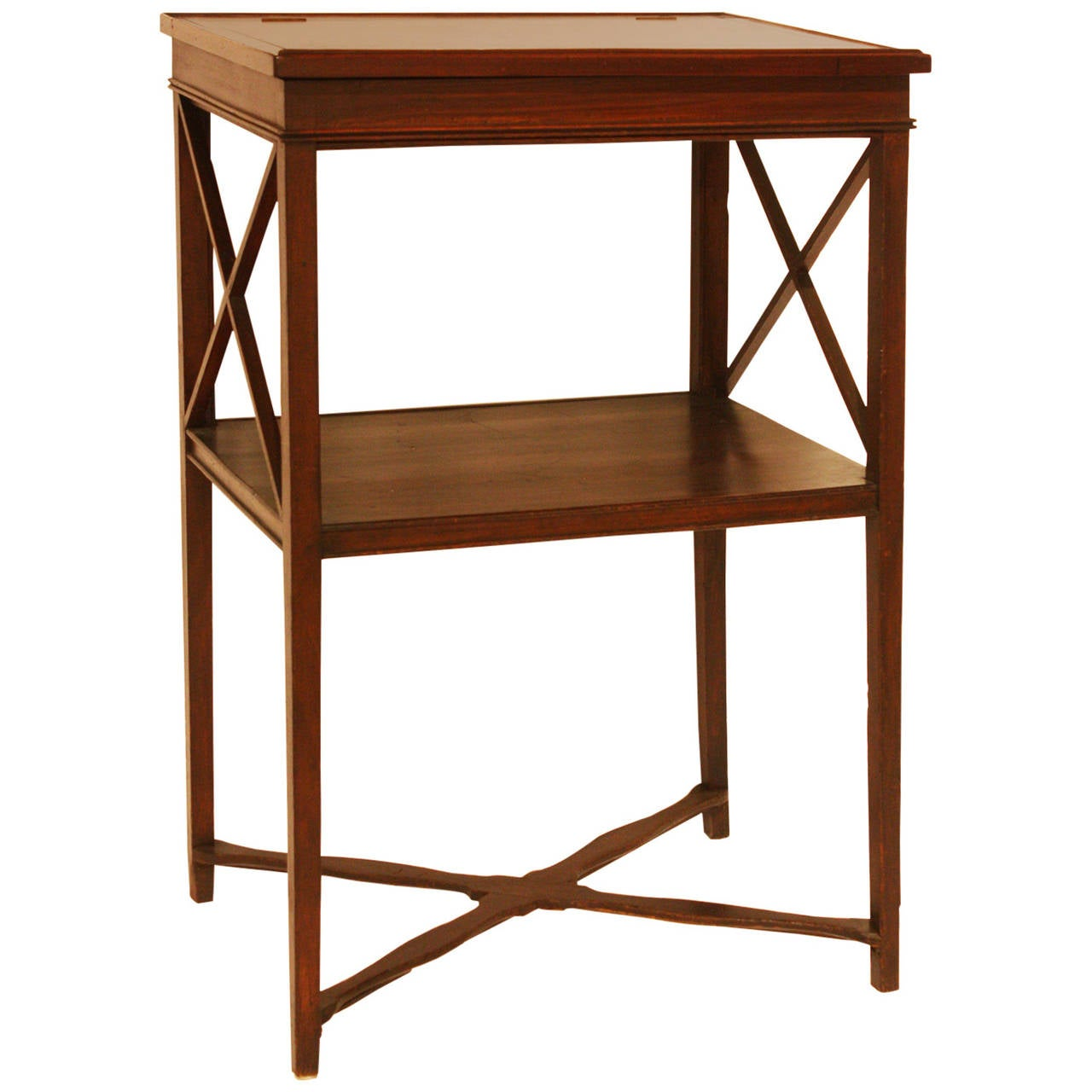 Antique American Standing Desk For Sale - Antique American Standing Desk At 1stdibs