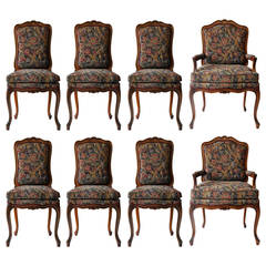 Vintage Louis XV Style Dining Chairs
