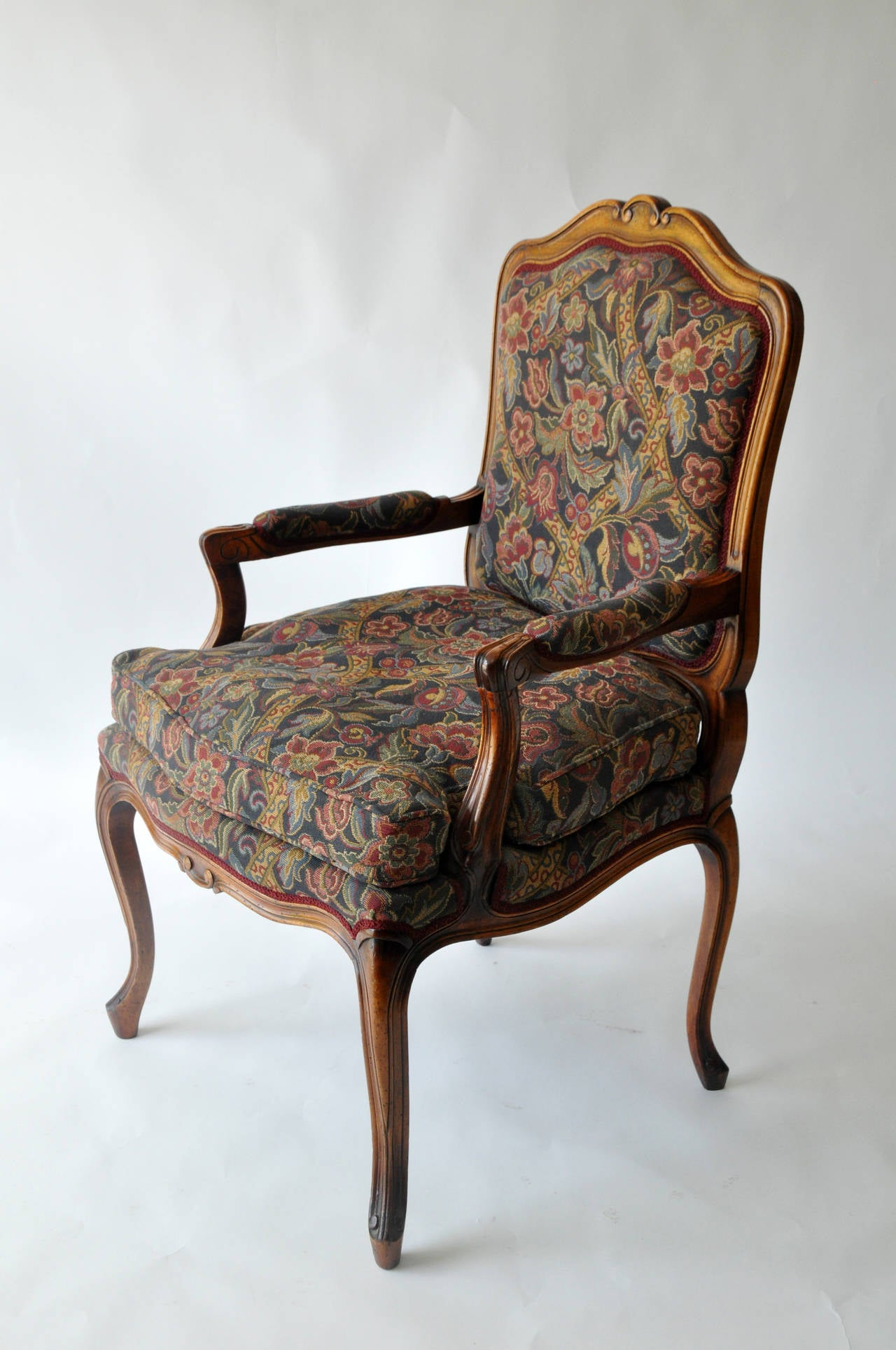 Vintage Louis XV Style Dining Chairs at 1stdibs