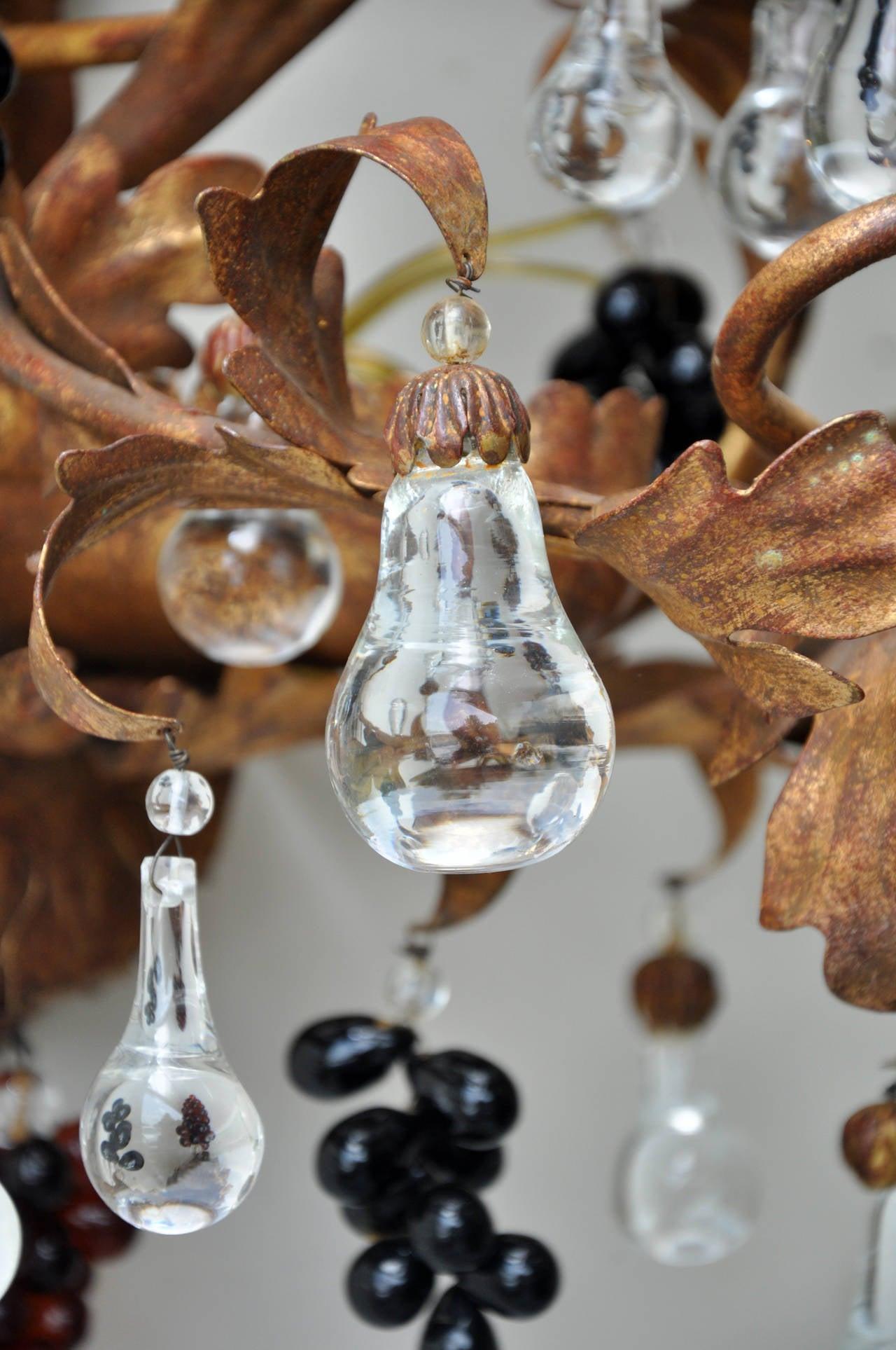Paul Ferrante 19th Century Gilt Crystal Sconces For Sale 3