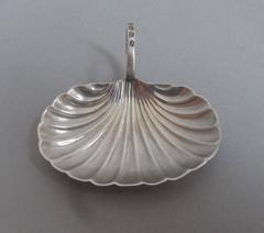A rare George III Caddy Spoon made in Birmingham in 1811 by Joseph Willmore.
