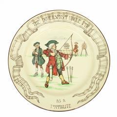 Rare Royal Doulton Archery Plate