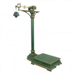 Vintage Cast Iron Scales And Weights