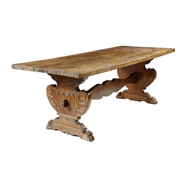 Walnut Tuscan Refectory Table