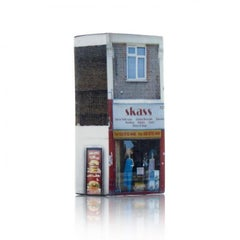 Tower of Babel: Sculpture No. 1089, 127 Burnt Oak Broadway by Barnaby Barford
