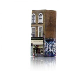 Tower of Babel: Sculpture No. 1122, 65 Lower Clapton Rd E5 by Barnaby Barford