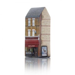 Tower of Babel: Sculpture No. 0881, 10 Wades Hill N21 1BG by Barnaby Barford
