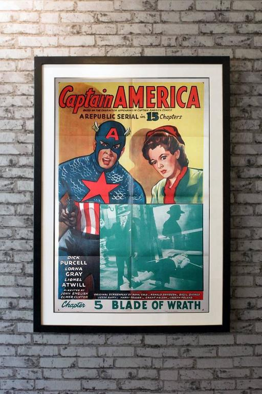 Captain America is a 1944 Republic black and white serial film loosely based on the Timely Comics (today known as Marvel Comics) character Captain America. It was the last Republic serial made about a superhero. It also has the distinction of being