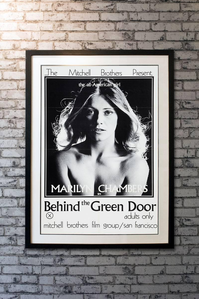 "Behind The Green Door Pics ""behind the green door"", poster, 1972"