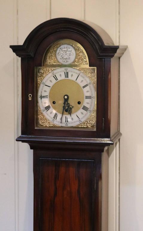 Walnut Grandmother Clock For Sale At 1stdibs