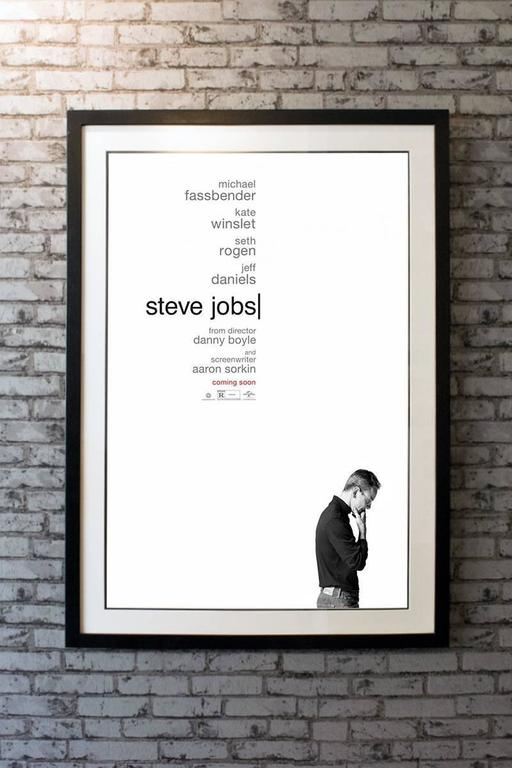 Quot Steve Jobs Quot Film Poster 2015 For Sale At 1stdibs
