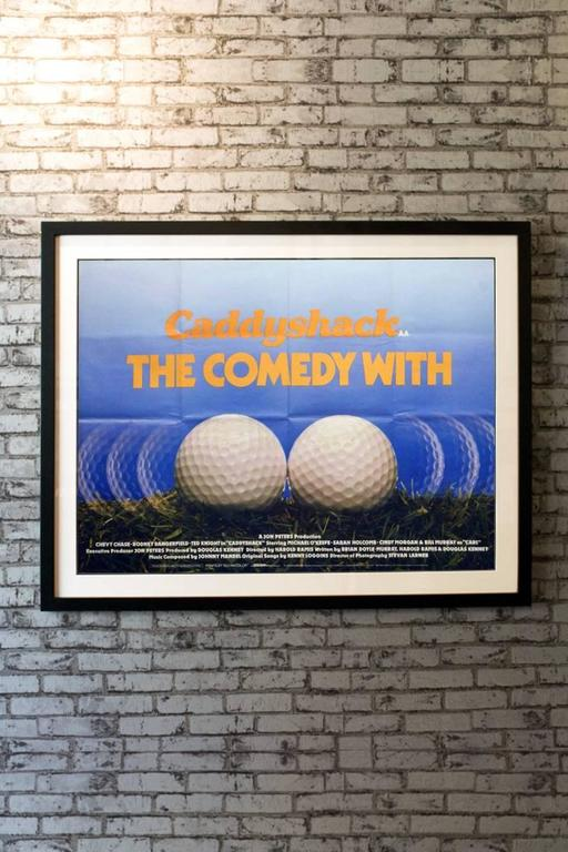 Quot Caddyshack Quot Film Poster 1980 For Sale At 1stdibs