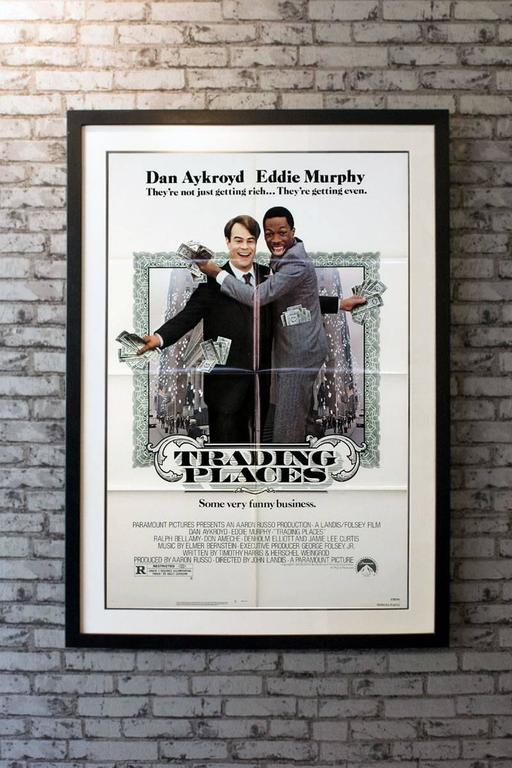 Trading Places Film Poster 1983 For Sale At 1stdibs