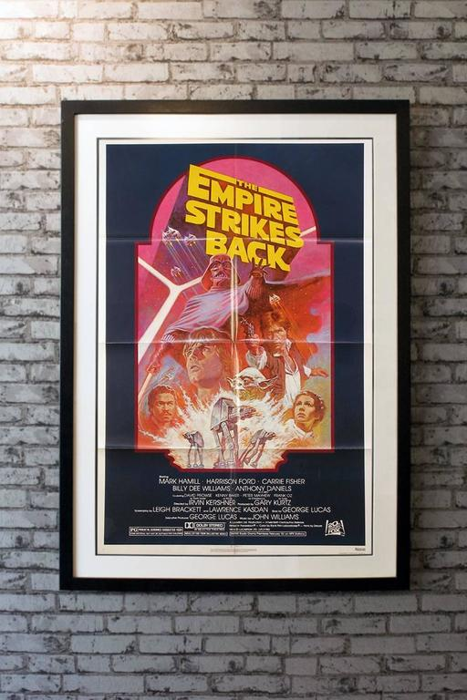 Quot The Empire Strikes Back Quot Film Poster 1982 For Sale At