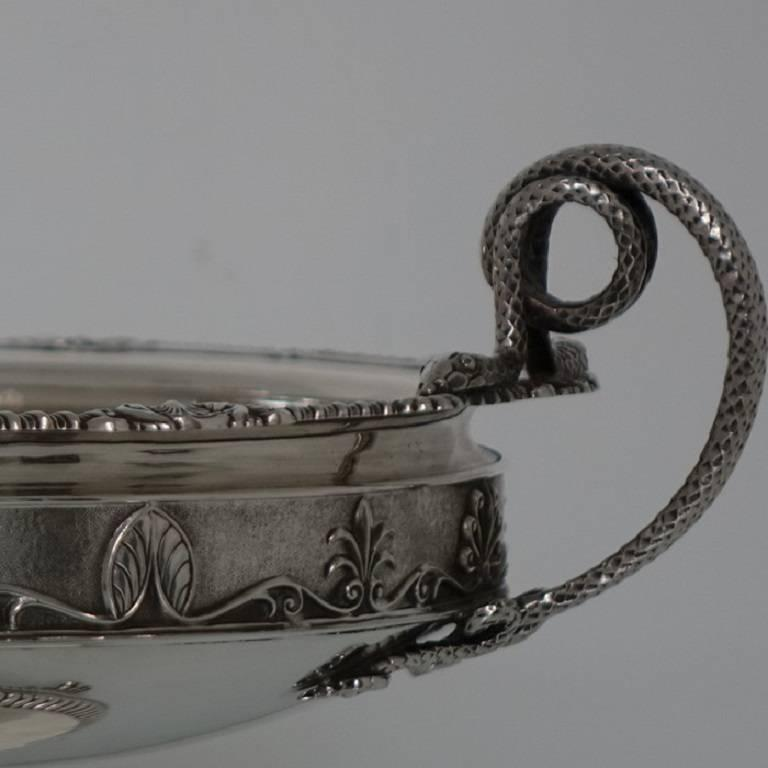 Suite Of Three Sterling Silver George V Dishes Comports
