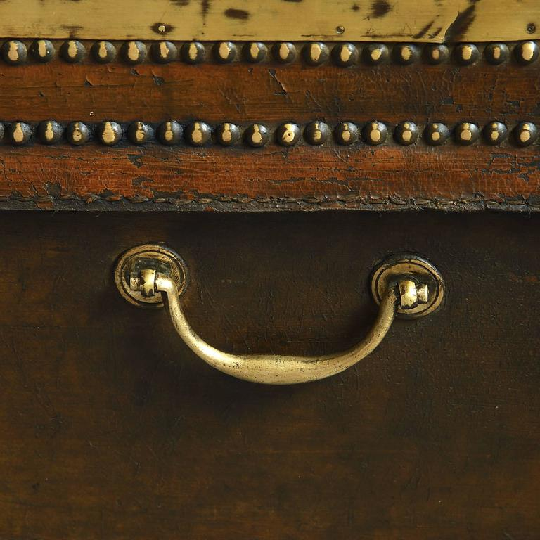 19th Century Chinese Export Travelling Trunk For Sale 1