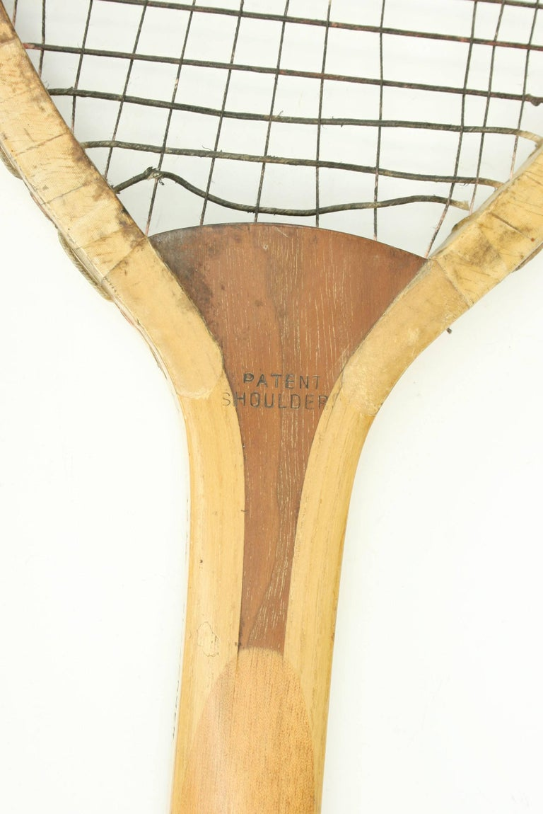 Doherty Lawn Tennis Racket In Good Condition For Sale In Oxfordshire, GB