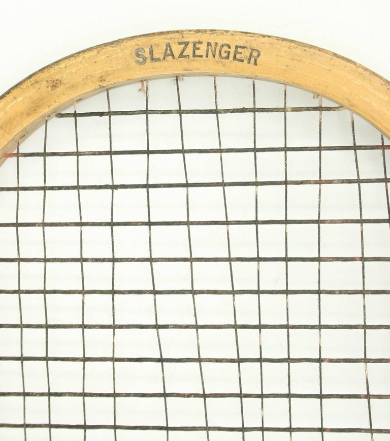 Early 20th Century Doherty Lawn Tennis Racket For Sale