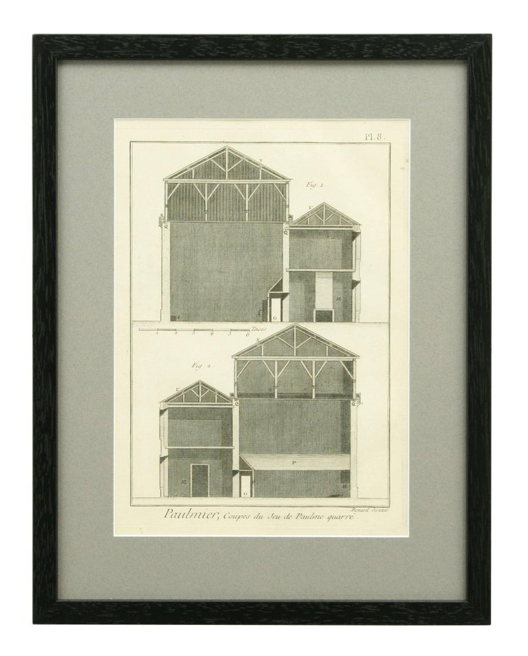 Antique Tennis Engravings, Paulmerie, Set of 9 For Sale 2