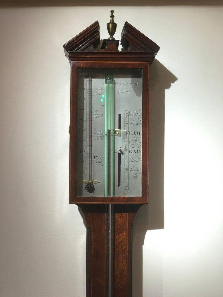 George III Stick Barometer by Cremonino