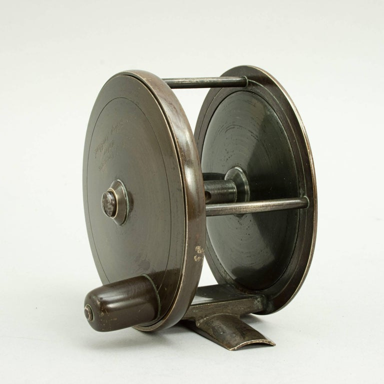 Brass salmon fishing reel for sale at 1stdibs for Salmon fishing reels
