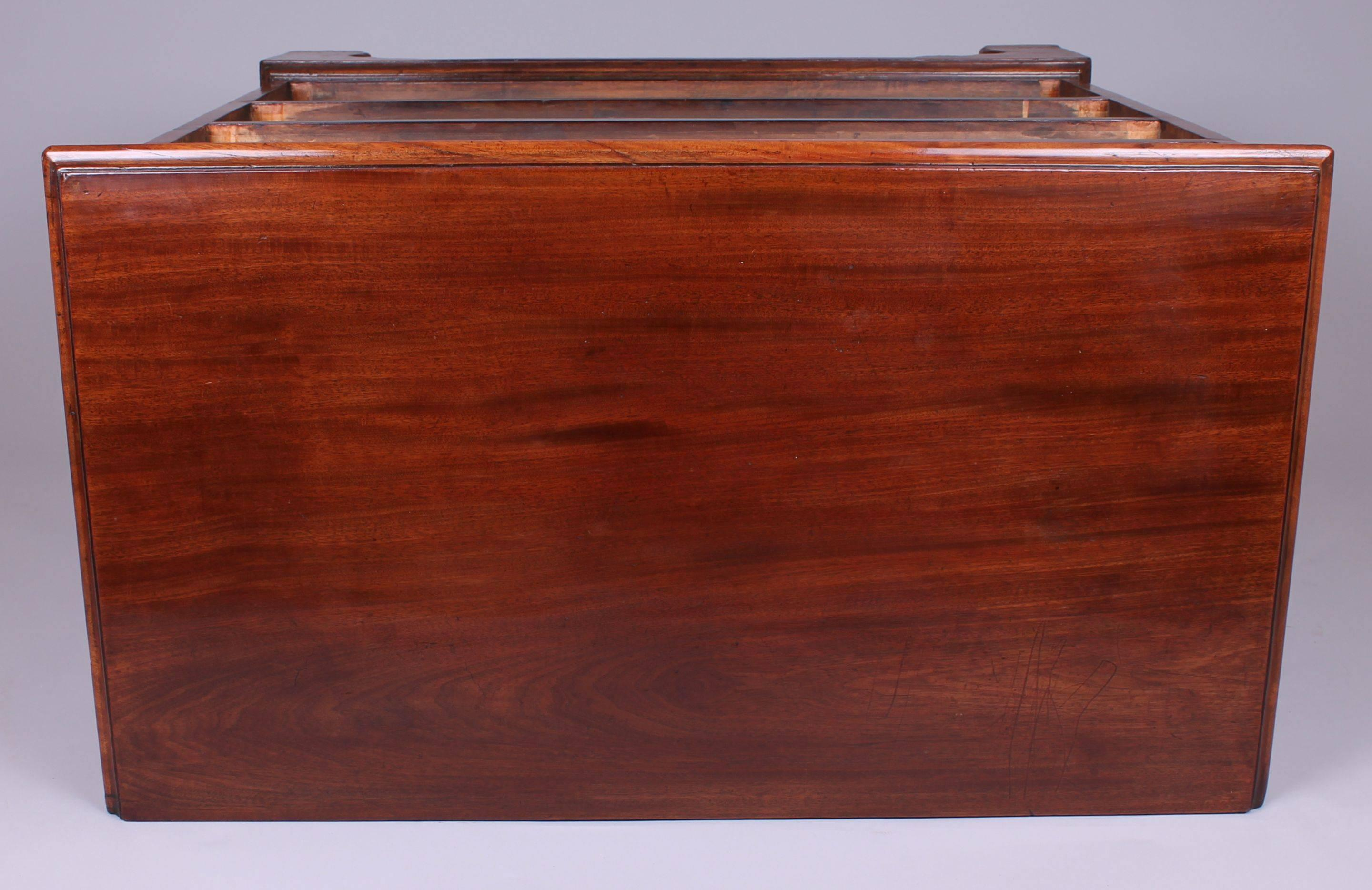George III Period Mahogany Small Chest of Drawers
