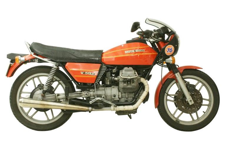 Italian Moto Guzzi V50 ii For Sale