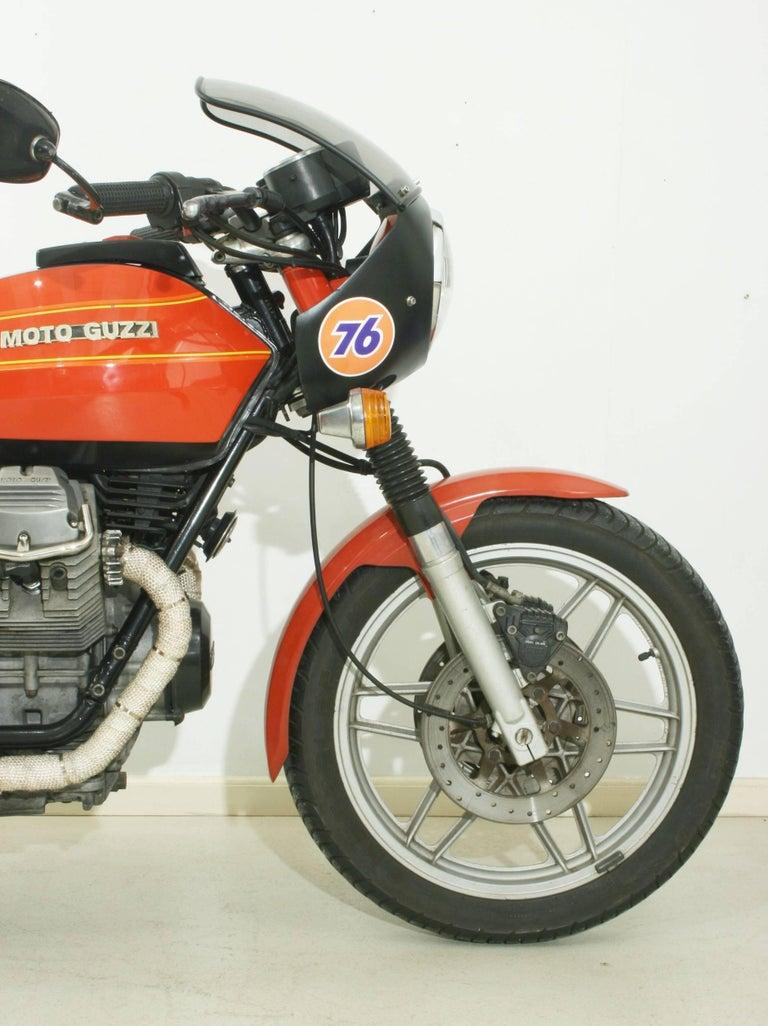 Late 20th Century Moto Guzzi V50 ii For Sale